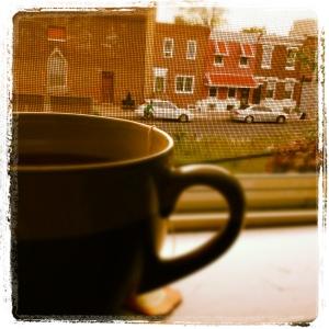 Caffeine and cinder blocks.